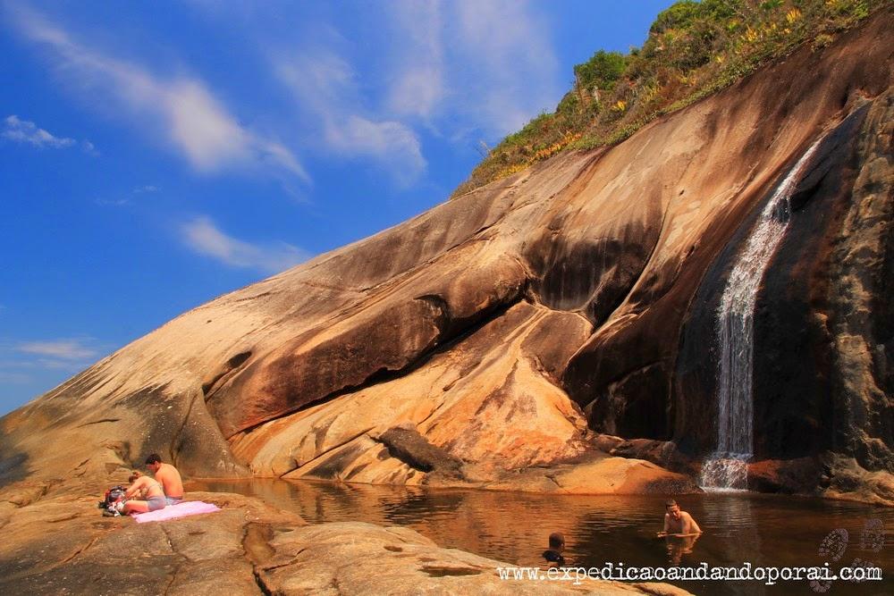 Cachoeira do Saco Bravo, Ponta Negra, Paraty