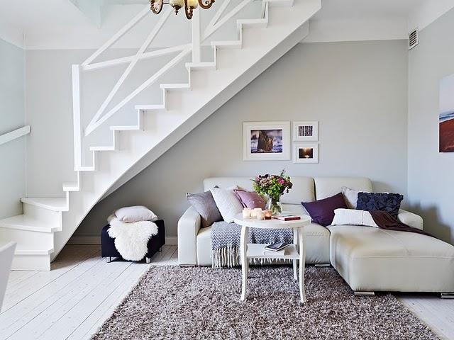 Sala Pequena Com Escada Decoracao ~ Decor em Tudo Decoração embaixo de escadas