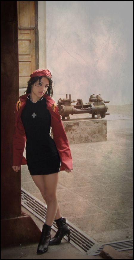 Angela Bermúdez deviantart incríveis cosplays filmes games linda nerd Misato Katsuragi (Evangelion)