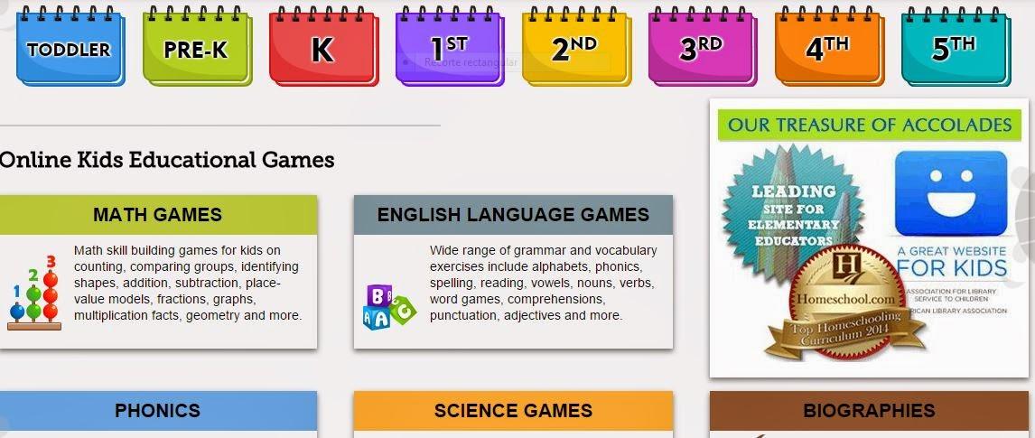 Almudena\'s blog: juegos en inglés con movimiento