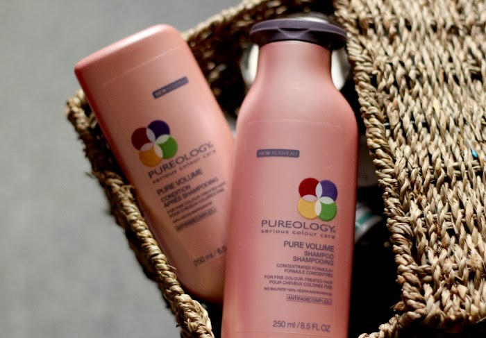 Pureology Pure Volume Shampoo & Conditioner Review
