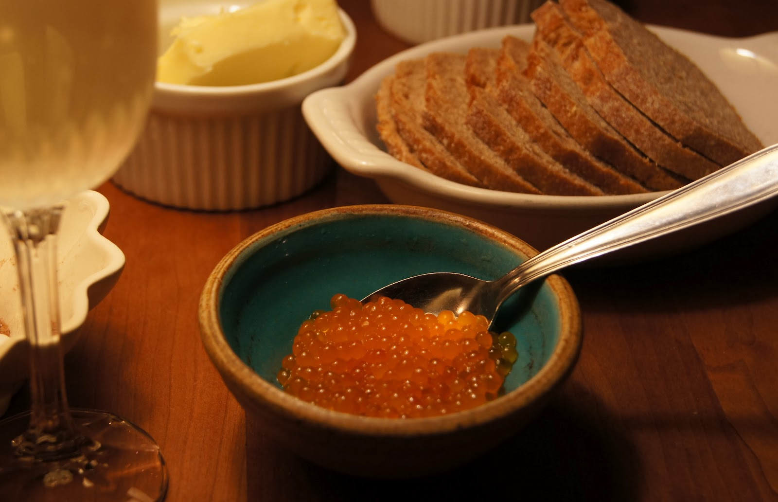 Trout caviar how to make trout caviar for How to prepare caviar