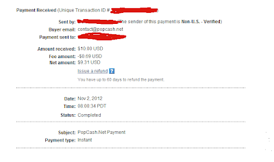 Popcash.net Payment Proof