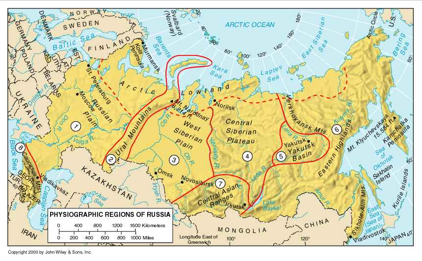 ANTHROPOLOGY OF ACCORD Map On Monday RUSSIA PART - Ob river on world map