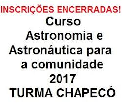 TURMA CHAPECÓ - INSCRIÇÕES ENCERRADAS