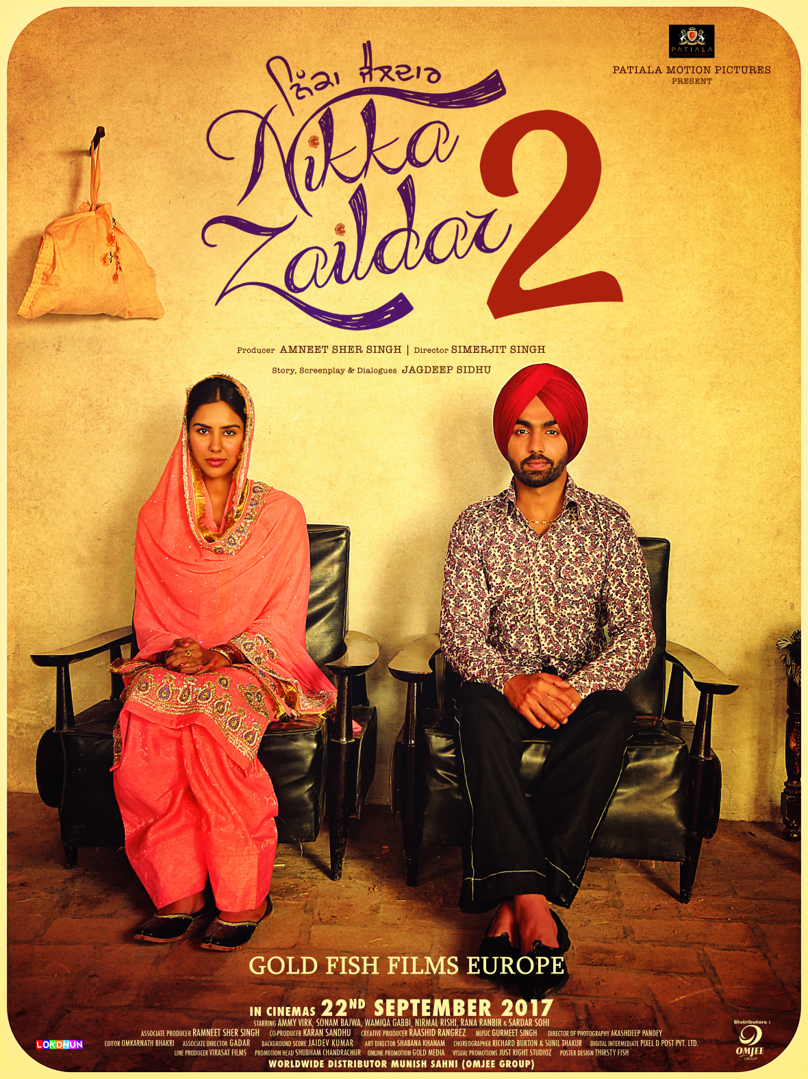 Nikka Zaildar 2 (2017) Punjabi 720p HDRip (New Print) x264 AAC - ExtraMovies