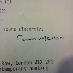 Paul Mellon Autograph