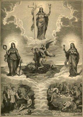 Virtudes, Caridade, Fé, esperança, cristianismo, catolicismo, moral