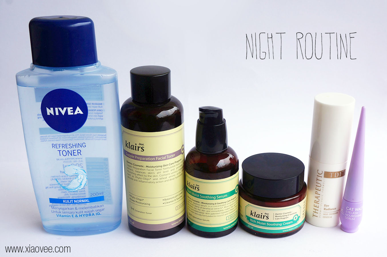 Night Skin care routine for normal combination skin type, Night Skin care product for normal combination skin type
