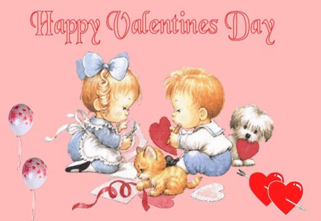 Valentines Day 2014 Funny Cute Cartoon Pictures Free Download