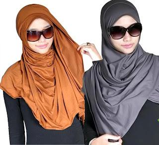 Trend Jilbab 2013 - Model Kreasi jilbab gaul