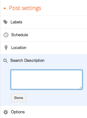 Menampilkan Search Description pada blogger untuk SEO yang lebih baik 2