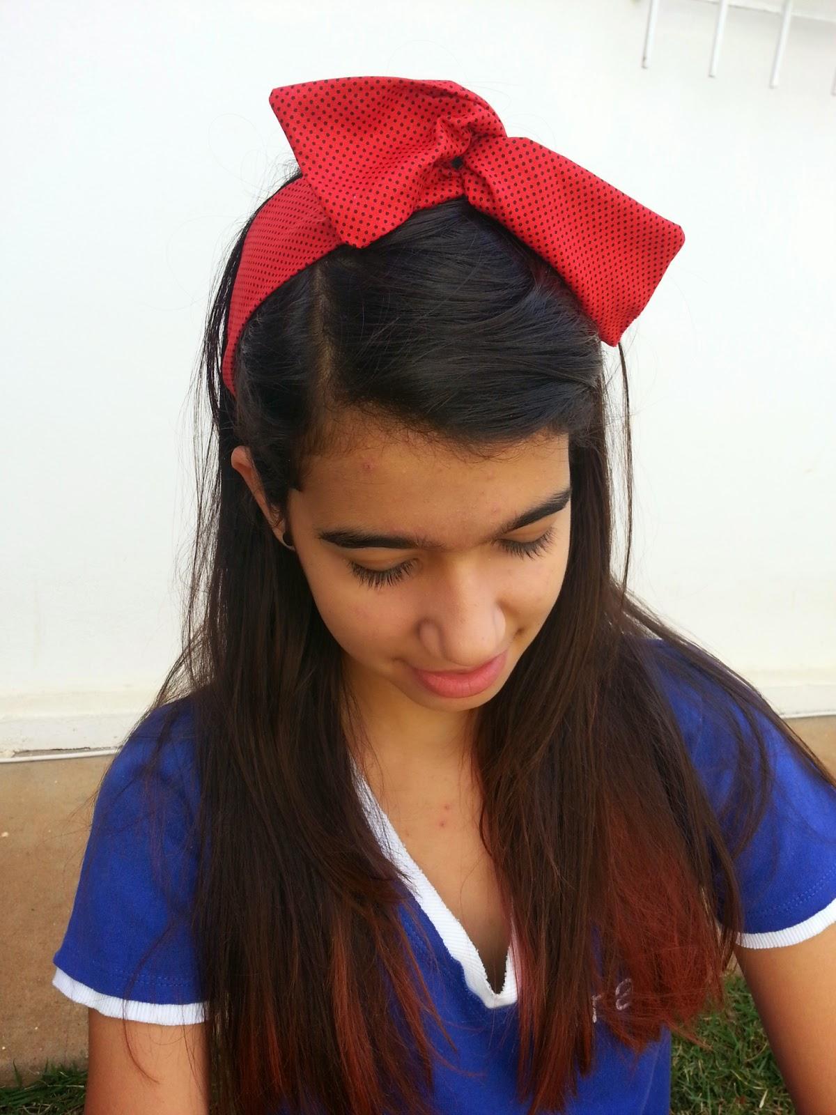 faixa para cabelo