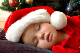 Christmas Xmas Baby Picture image