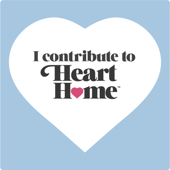 I contribute to Heart Home Magazinr