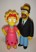 Simpsons repaints and a Lisa Simpson head swap to a Patty or Selma .