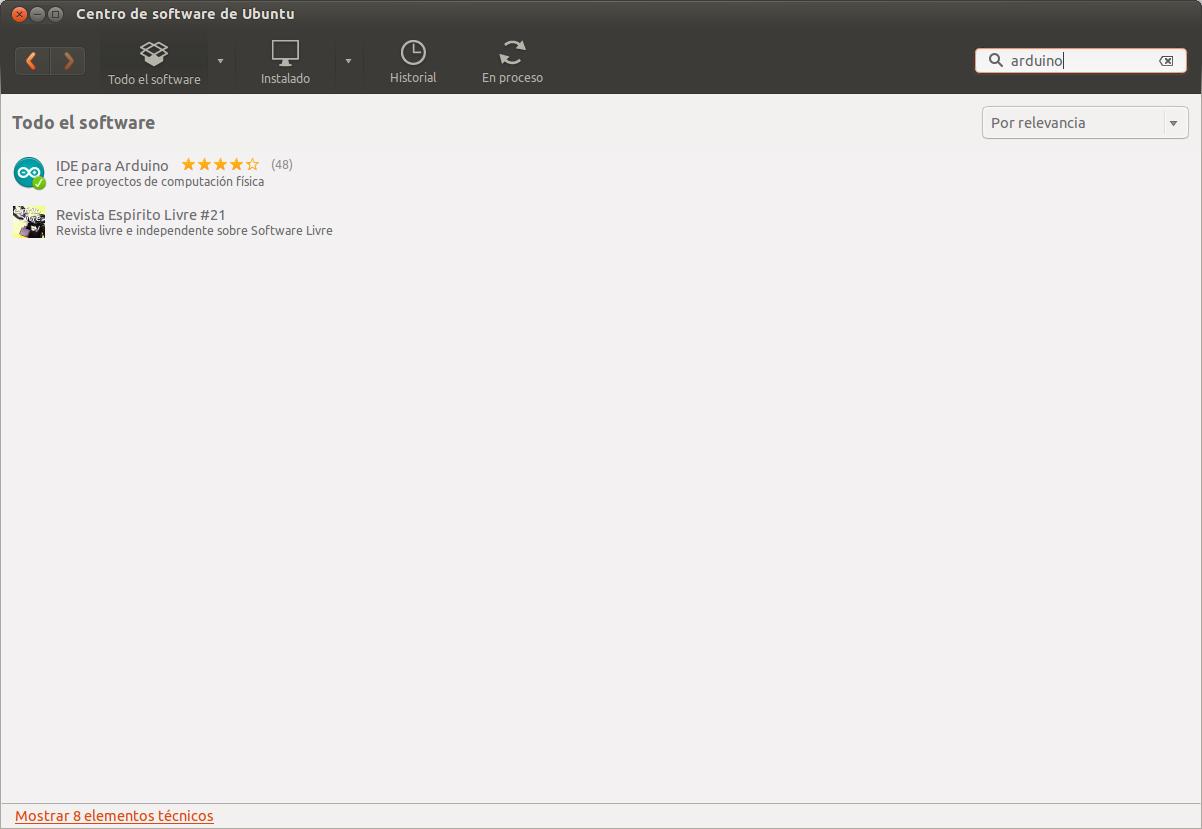 Primeros pasos arduino ubuntu pucomí