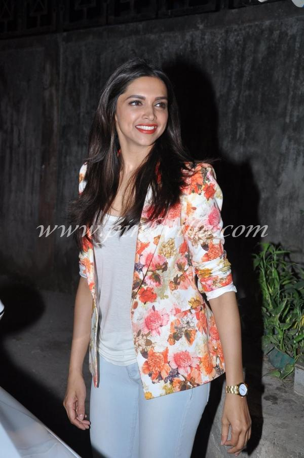 Deepika Padukone Spotted