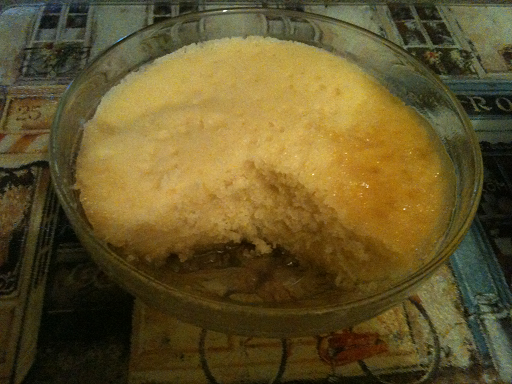 Microwave Sponge Pudding Recipe