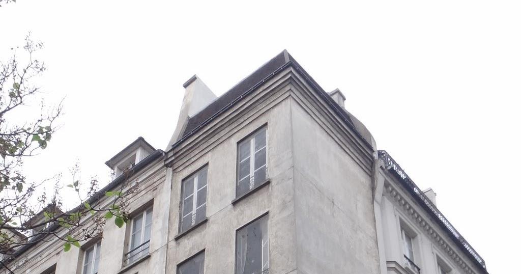 paris bise art faux immeuble rue quincampoix. Black Bedroom Furniture Sets. Home Design Ideas