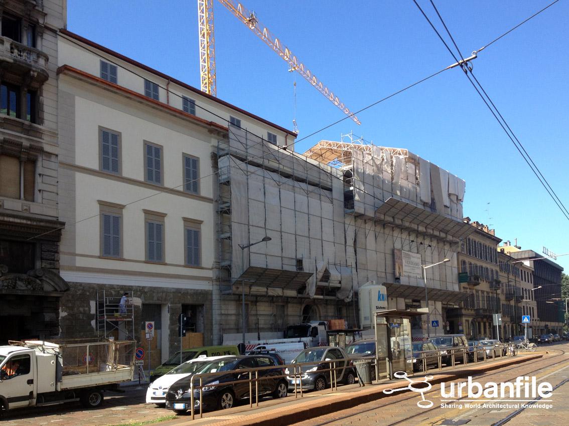 Urbanfile milano zona brera finito il restauro a for Finito piano piano interruzione sciopero piani
