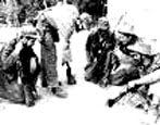 Ejército Rebelde preparanco acción de ataque al cuartel del Uvero