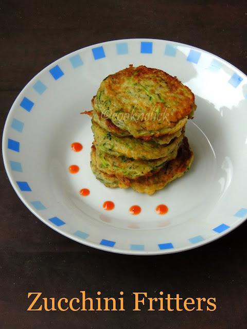 Zucchini Fritters, American Zucchini Pancakes