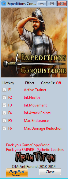 Expeditions Conquistador V1.6.6 Trainer +5