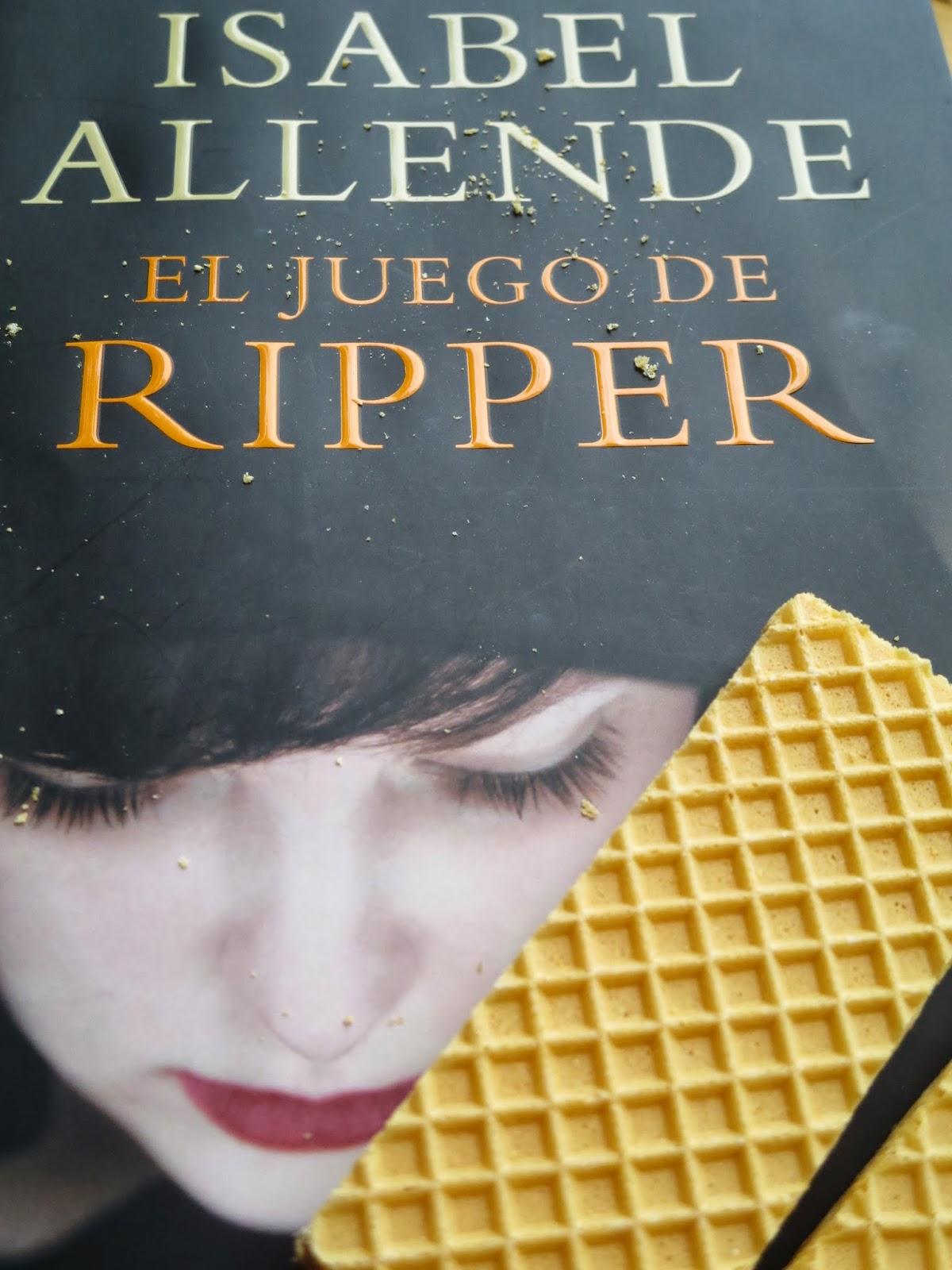 Portada de El juego de Ripper de Isabel Allende. Foto: Raquel Atondo