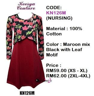 T-shirt-Muslimah-Keesya-KN126M
