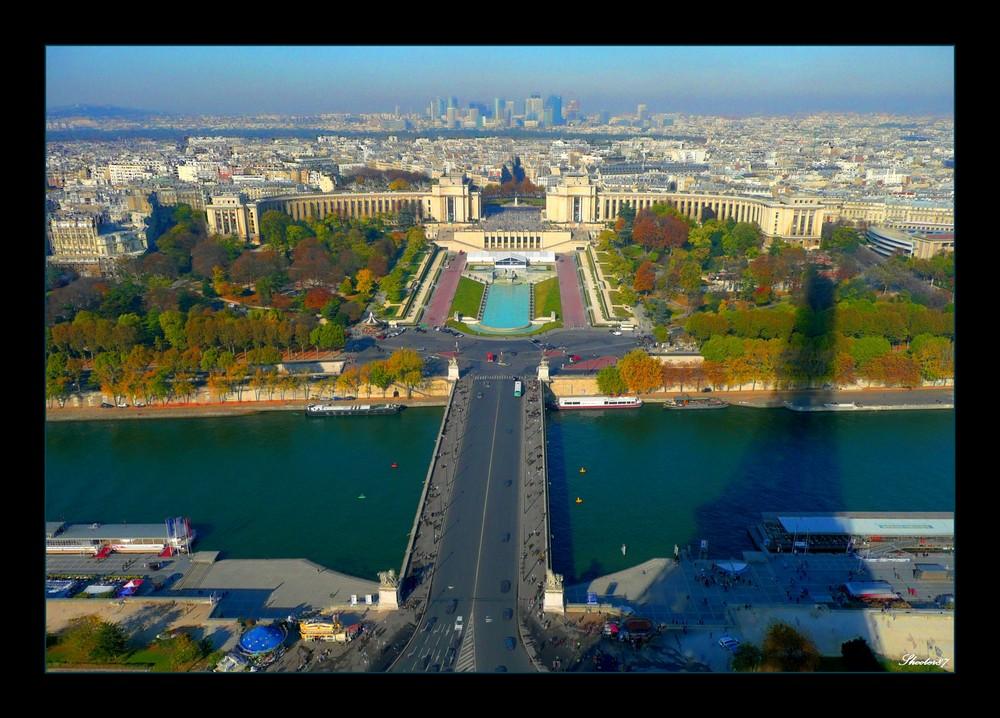 Vous aimez paris paris vu du ciel for Paris paysage