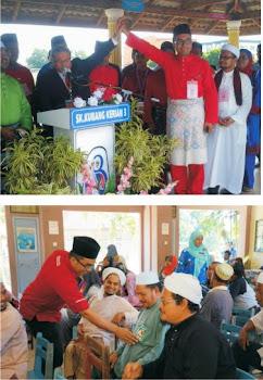 Hj. Anuar Safian penaung KSBK calon PRU 13 parlimen kubang kerian