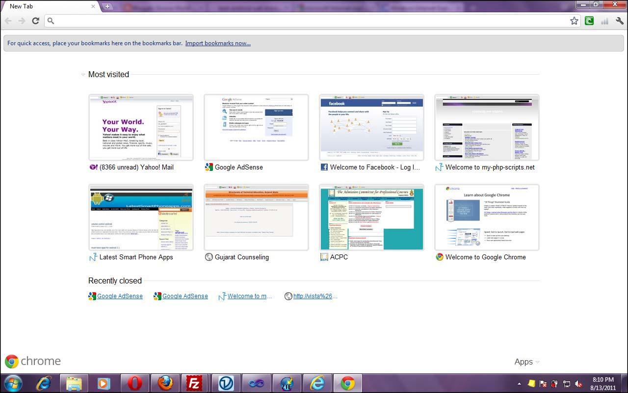 windows 7 top browser list