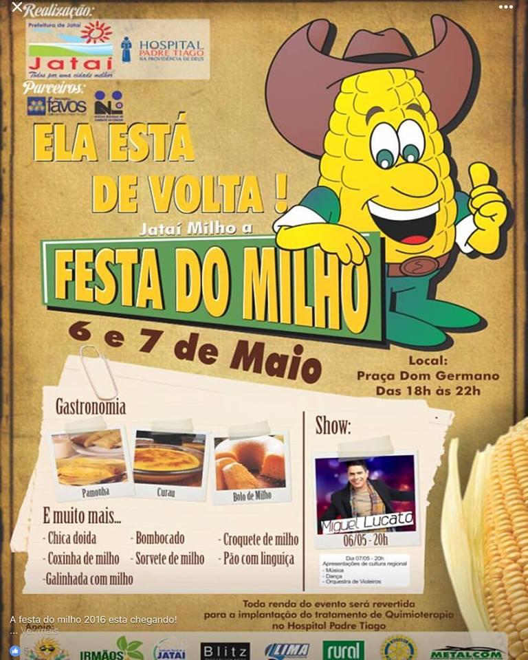 Festa do Milho 2016
