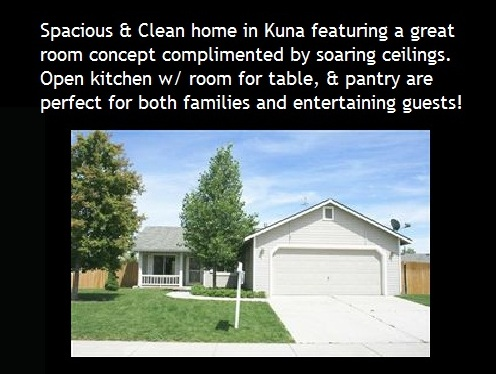 Spacious and clean new homes for sale in kuna id for Craftsman style homes for sale in boise idaho