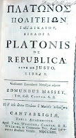 Plato's Republic from year 1713