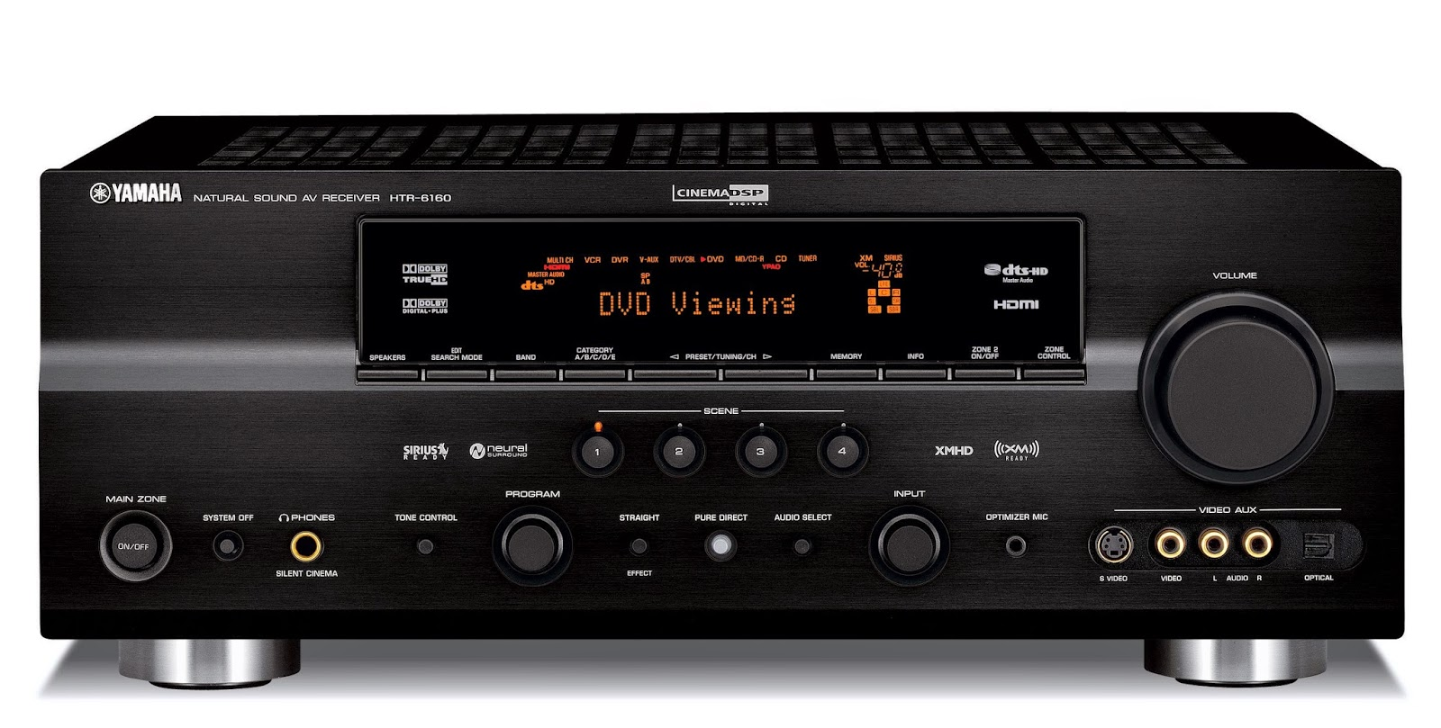 yamaha htr 6160 av receiver audiobaza