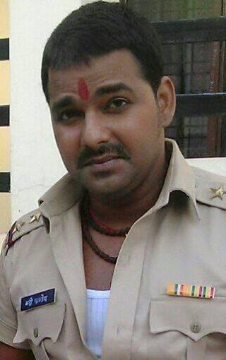 Pawan Singh Bhojpuria Raja Bhojpuri Movie Shooting stills