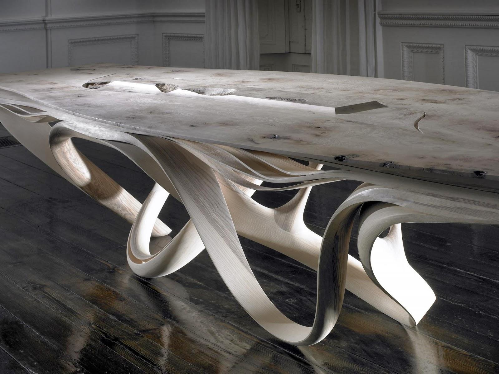 Design enignum furniture by joseph walsh - Design organique ...