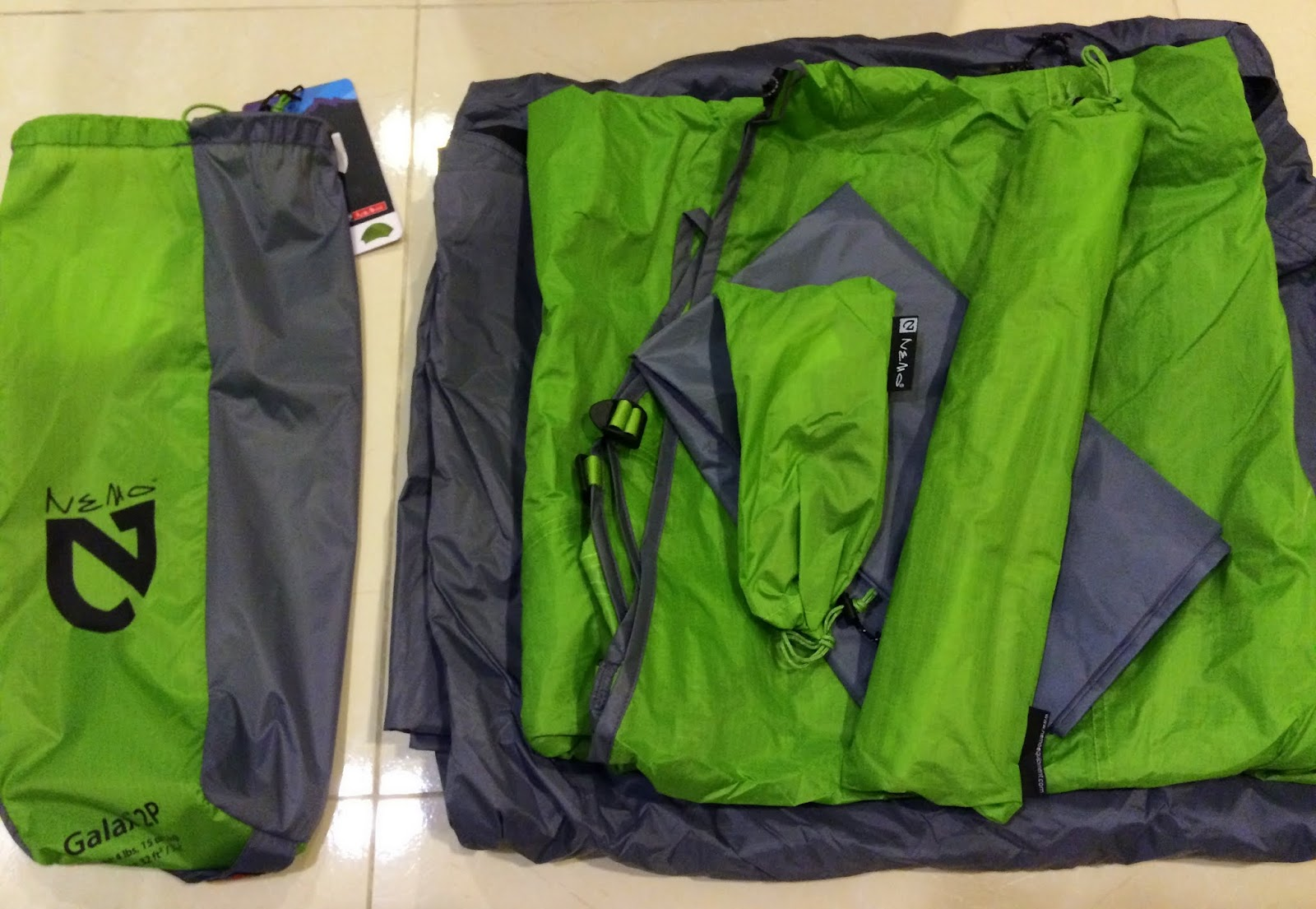 ?????? ??/??/??(??)/???/??? & Jasonu0027s Camping Life: [??] NEMO Galaxi 2P Backpacking Tent (Birch ...