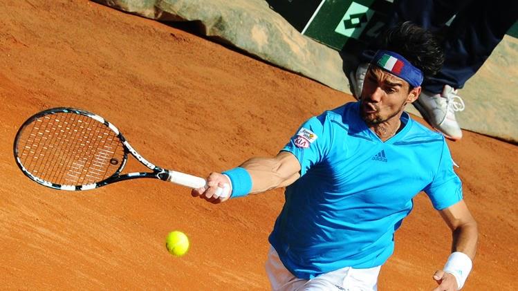 Fognini ganó a Murray e Italia se clasificó para semis