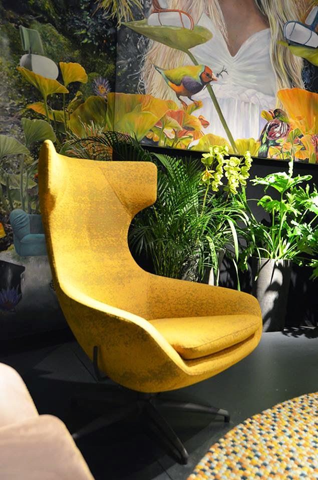 Retro Design ist in auf der Kölner Möbelmesse imm cologne 2015 - Einrichten und Wohnen