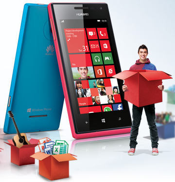Huawei Ascend W1 Windows 8