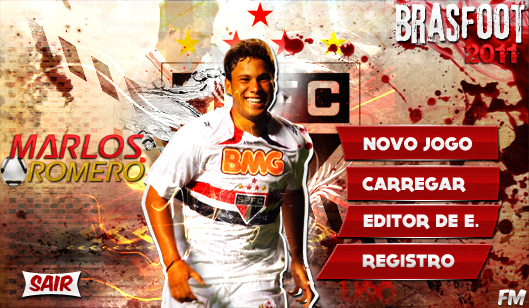Skin Do Marlos Do SPFC PARA O Brasfoot 2011 Build 3 Registrado