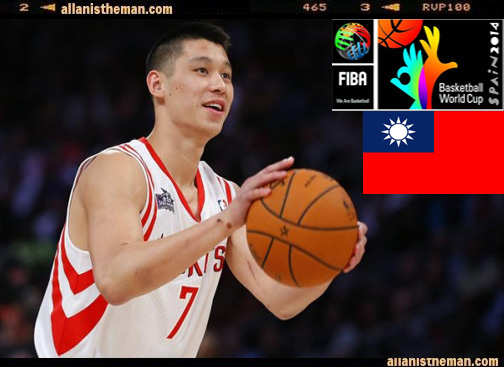 Jeremy Lin to play for Taiwan in 2014 FIBA Basketball World Cup