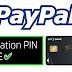حل مشكلة كود PIN تفعيل البايبال و بطاقة ماستركارد CODE30 CIH