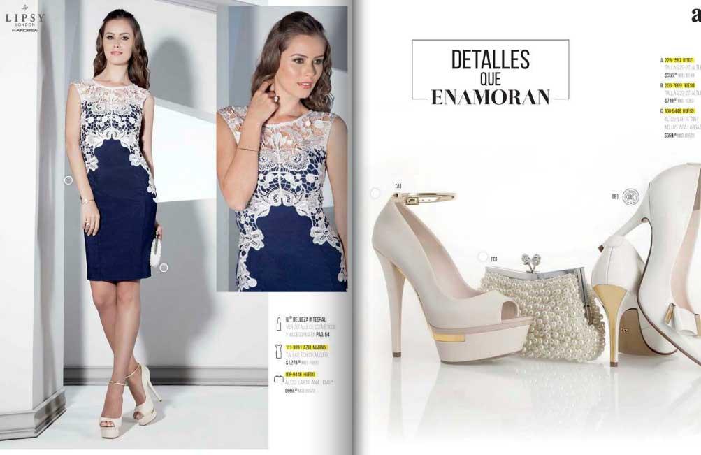 Catalogo de vestidos de fiesta andrea 2015