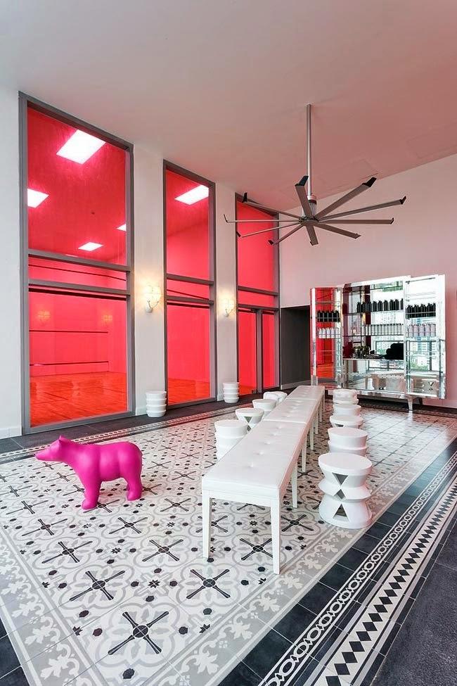 дизайн интерьера дома в Панаме