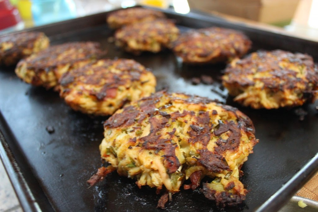 http://simplypaleo.com/paleo-turkey-fritters-with-chipotle-mayo/