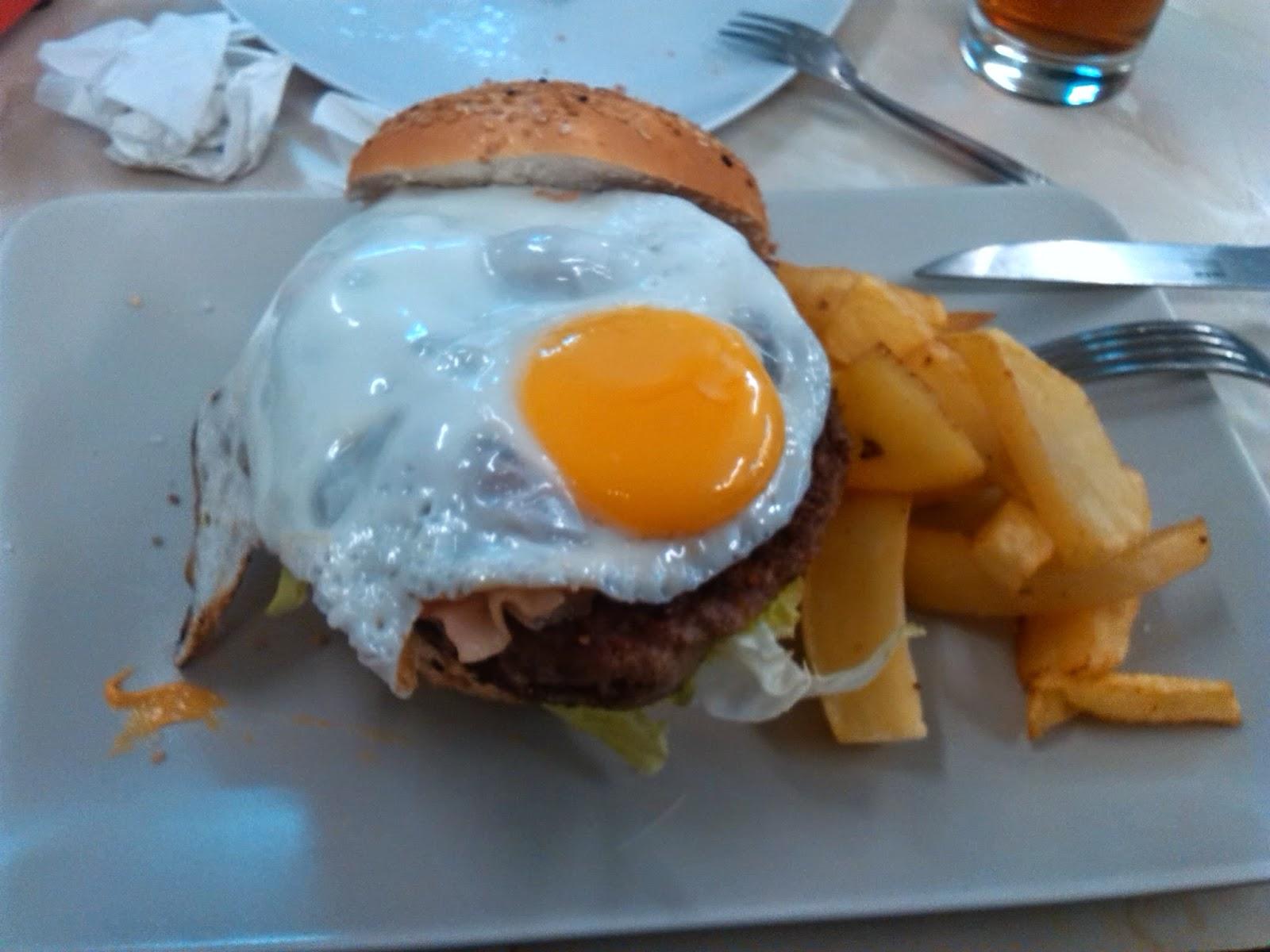 Hamburguesa Yankee- Café bar Mega